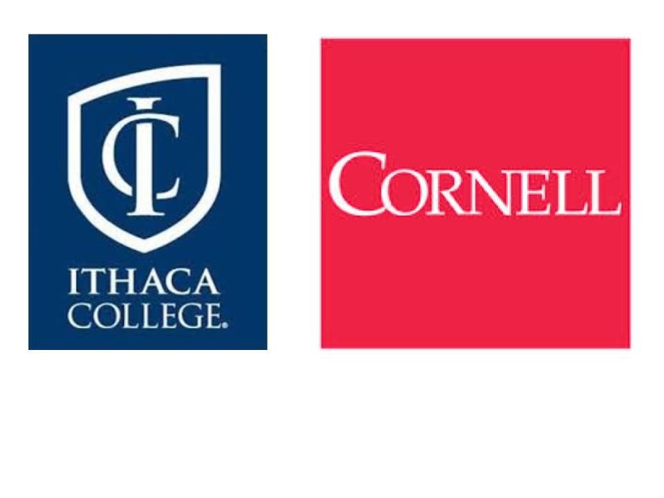 logos for Cornell and Ithaca College